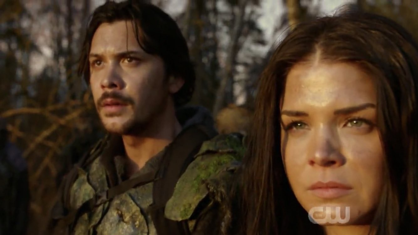 The 100 - sesta stagione Octavia e Bellamy
