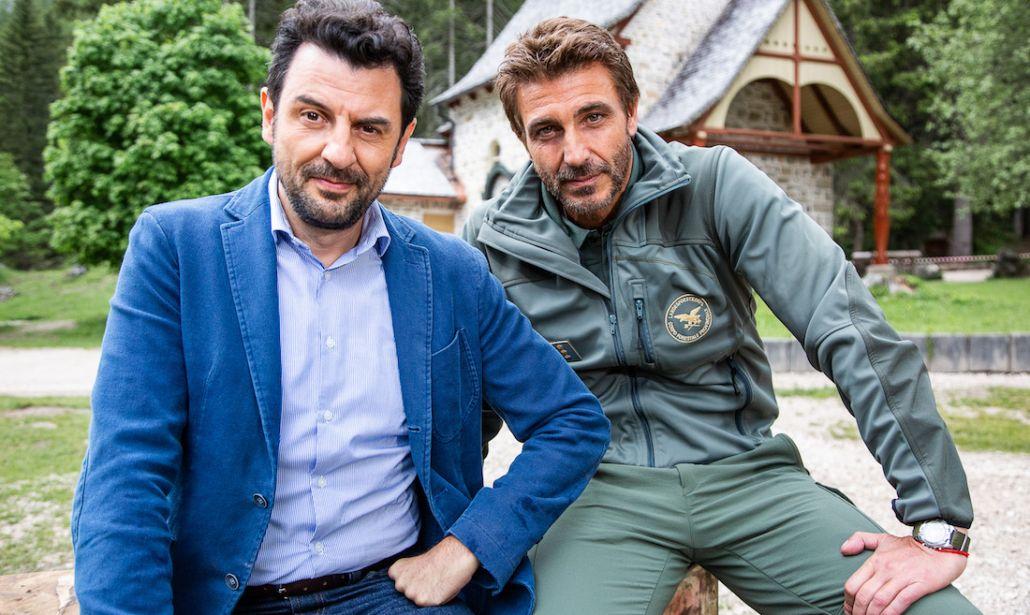 Un passo dal cielo 5 Daniele Liotti e Enrico Ianniello
