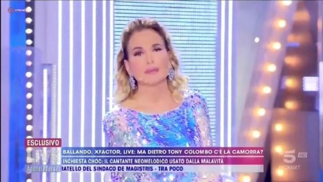 Live Non è la D'Urso 28 ottobre Canale 5
