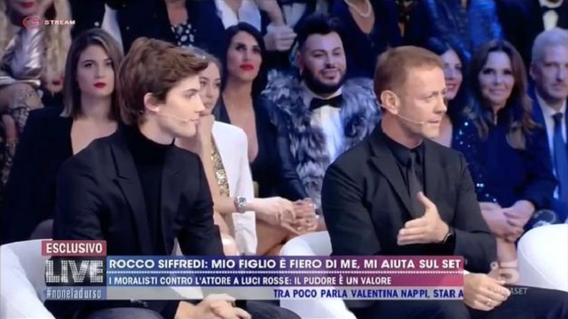 Live- non è la D'Urso -Rocco siffredi e Lorenzo