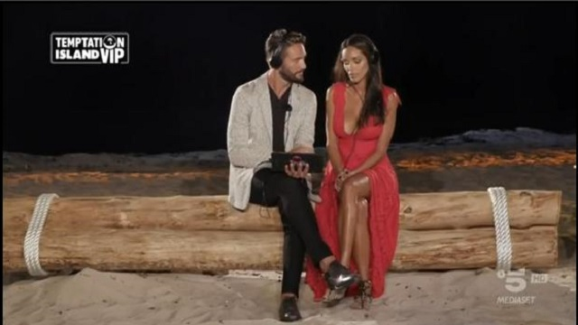 Temptation Island Vip 2- Alex e Delia falò di confronto
