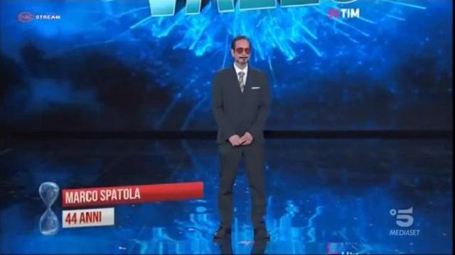 Tu si que vales-Spatola sosia Robert Downey Jr
