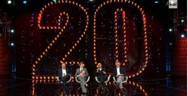 20 anni che siamo italiani 29 novembre - Diretta con D'Alessio e Incontrada show e ospiti