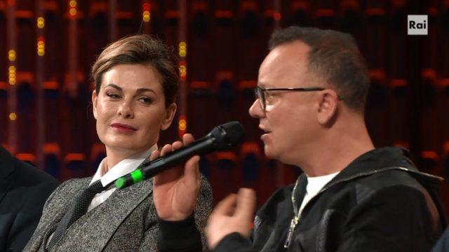 20 anni che siamo italiani la conferenza stampa - Incontrada e D'Alessio