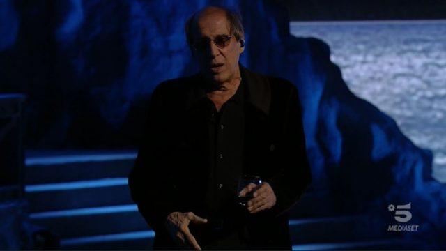 Adrian diretta 14 novembre - Adriano Celentano monologo Zio Amedeo