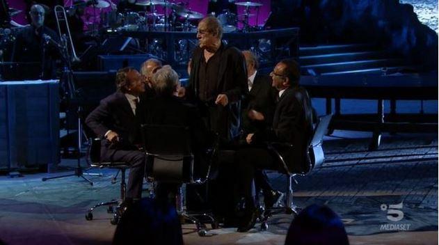 Adrian diretta 18 novembre - Adriano Celentano nella puntata precedente
