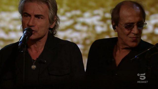 Adrian diretta 7 novembre - Celentano ospita Luciano Ligabue