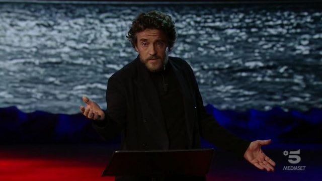 Adrian diretta 7 novembre - Celentano ritorna su Canale 5 - Alessio Boni introduce l'episodio della serata
