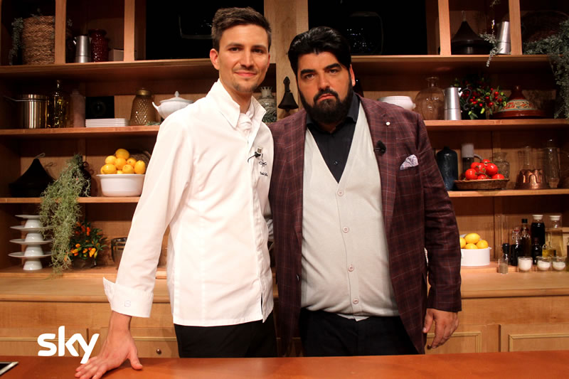 Antonino Chef Academy 26 novembre Cannavacciuolo e Paolo Griffa