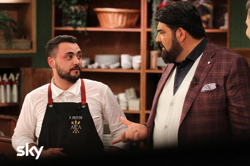 Antonino Chef Academy 26 novembre concorrenti eliminati