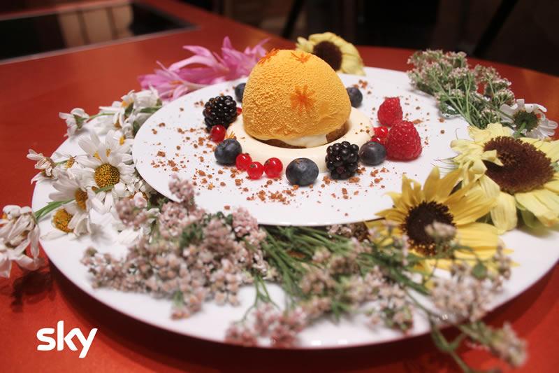 Antonino Chef Academy 26 novembre torta composizione