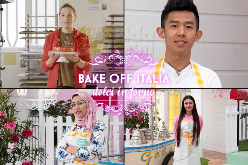 Bake Off Italia 7 puntata 22 novembre semifinalisti