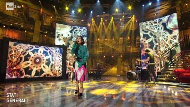 Stati Generali diretta 28 novembre - Ospite Levante canta Bravi tutti voi
