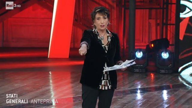 Stati Generali diretta 28 novembre - Serana Dandini Rocco Tanica con Martina Dell'Ombra movimento delle gattine