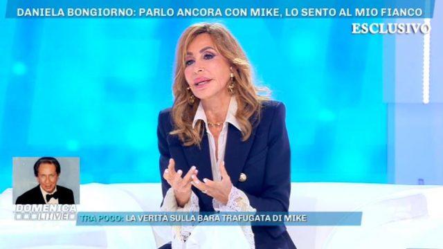 Domenica Live 3 novembre 2019 - Daniela Bongiorno
