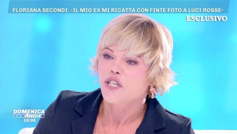 Domenica Live Floriana Secondi incazzata con Barbara D'Urso