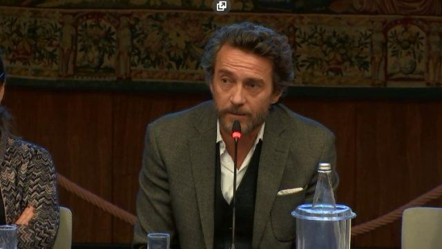 Enrico Piaggio - un sogno italiano. Alessio Boni in conferenza stampa