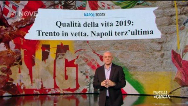 Fratelli di Crozza - L'imitazione del Governatore De Luca su Napoli terz'ultima per qualità della vita