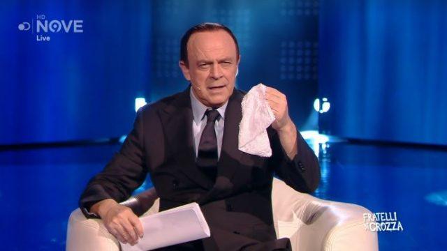 L'imitazione di Berlusconi