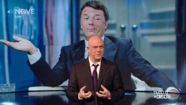 Fratelli di Crozza 15 novembre - La parodia di Matteo Renzi