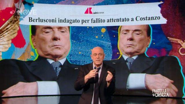 Fratelli di Crozza 15 novembre - Maurizio Crozza su Berlusconi