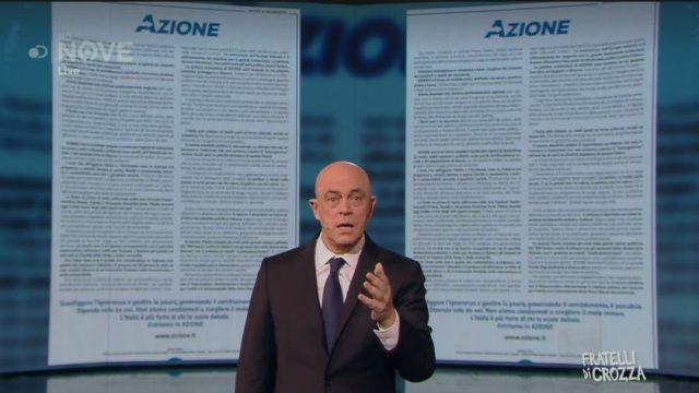 Fratelli di Crozza - L'ironia su Azione, il nuovo partito di Carlo Calenda