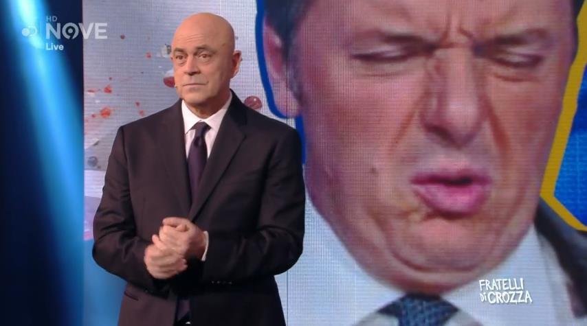 Fratelli di crozza 29 novembre - Crozza parla di Renzi