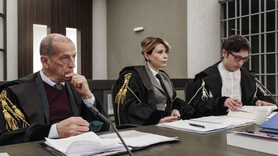 Il processo puntata 29 novembre attori