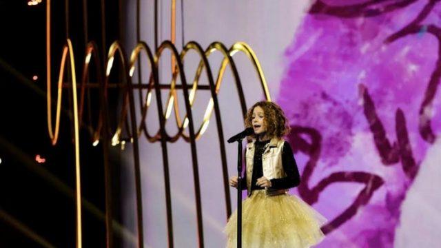 Junior Eurovision Song Contest - canta Marta Viola