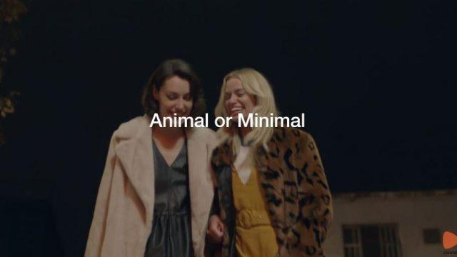 La seconda delle due pubblicità di Zalando per Natale