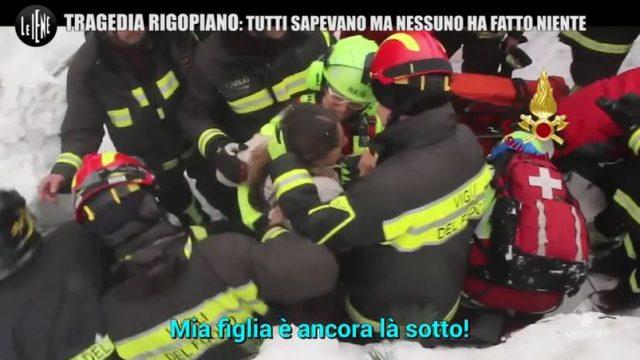 Le Iene Show 24 novembre 2019 diretta - Il servizio sulla tragedia di Rigopiano