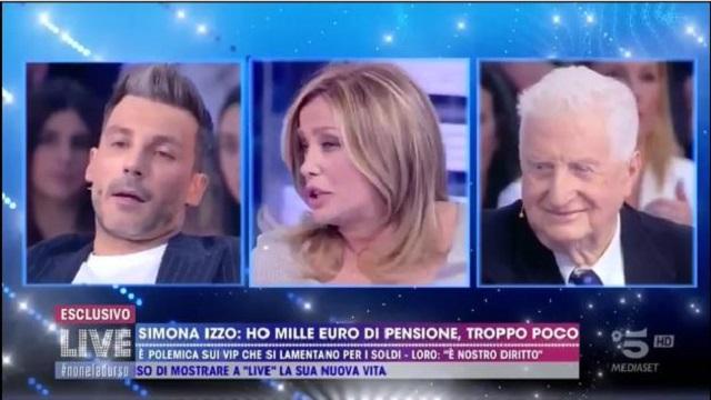 Live Non è la D'Urso diretta 18 novembre gianfranco d'angelo