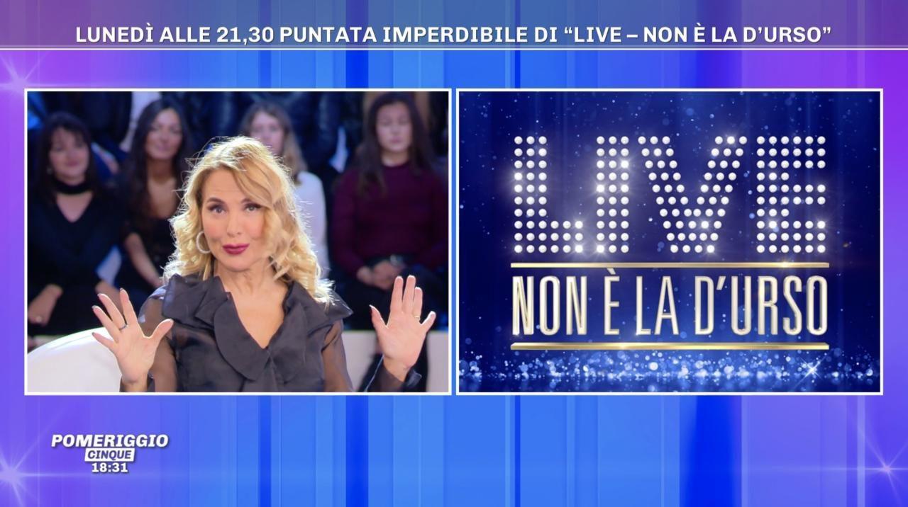 Live - non è la d'Urso 4 novembre