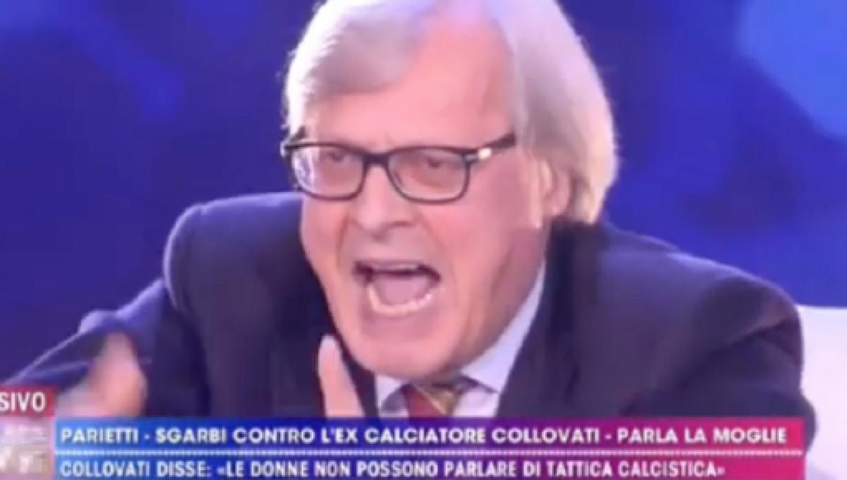 Non è la D'Urso 18 novembre Vittorio Sgarbi