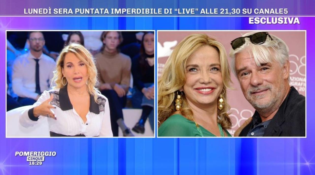 Non è la D'Urso puntata 25 novembre Ricky Tognazzi e Simona Izzo