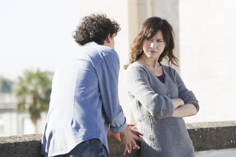 Oltre la soglia personaggi Gabriella Pession (Tosca) e Michele Spadavecchia (Roberto)