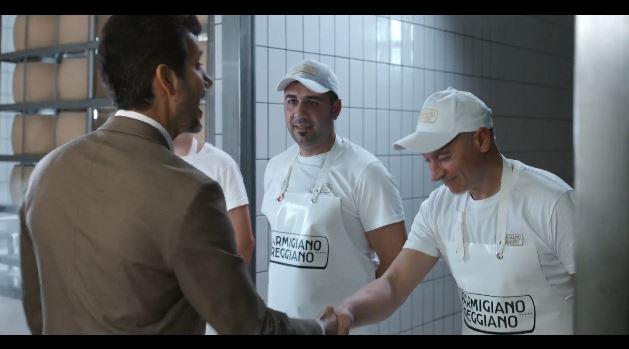 Spot in TV del Parmigiano Reggiano - I casari