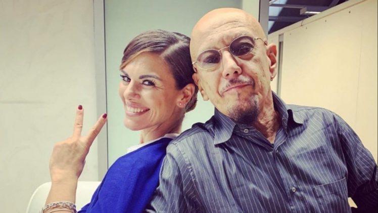 Una storia da cantare Bianca Guaccero e Enrico Ruggeri