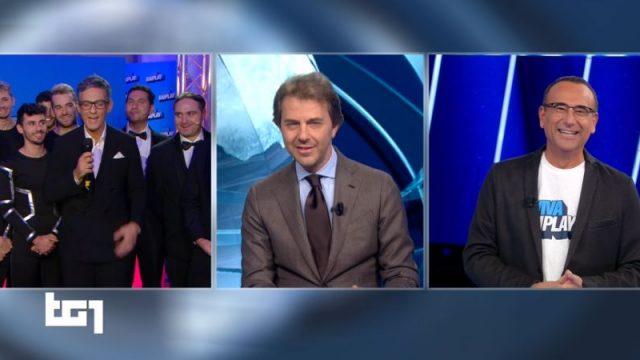 Viva RaiPlay! 8 novembre diretta - L'ultima puntata di Fiorello su Rai1- Il collegamento in anteprima con il TG1 e il Mollica Fiorello flow