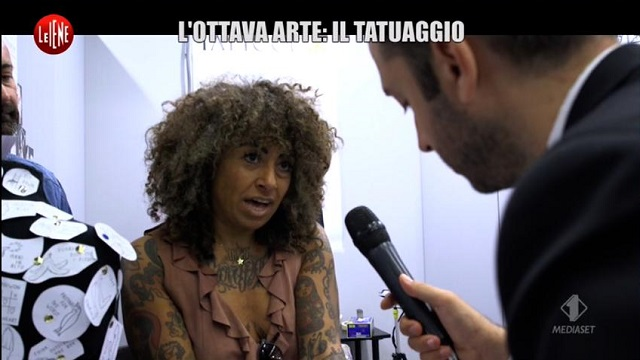 le iene show florence tatto convention