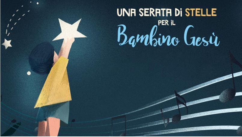 una serata di stelle per il bambino gesù mercoledi 20 novembre rai 1