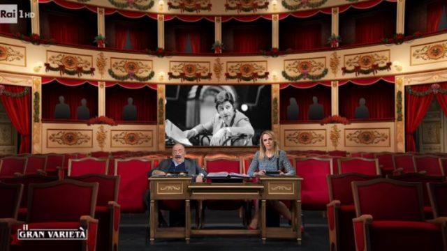 Il Gran Varietà diretta 23 dicembre - Il ricordo di Antonello Falqui e Bambole non c'è una lira