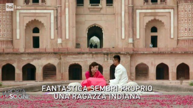 La porta dei sogni diretta 20 dicembre - Sofia e Kartik in India