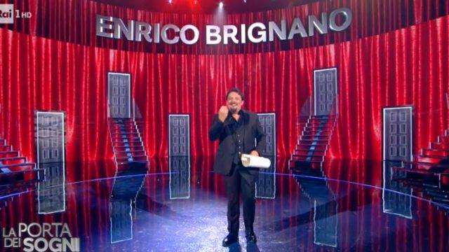 La porta dei sogni diretta 28 dicembre - Enrico Brignano monologo