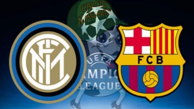 Champions League Inter Barcellona - 10 dicembre 2019
