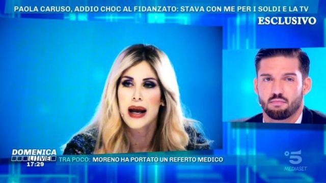 Domenica Live 1 dicembre - Paola Carus