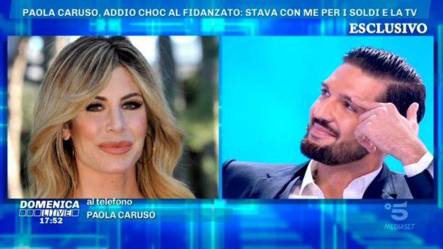 Domenica Live 1 dicembre - Paola Caruso chiama Michele Merlo