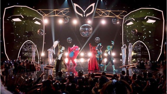 Il cantante mascherato - Lo show in onda negli USA