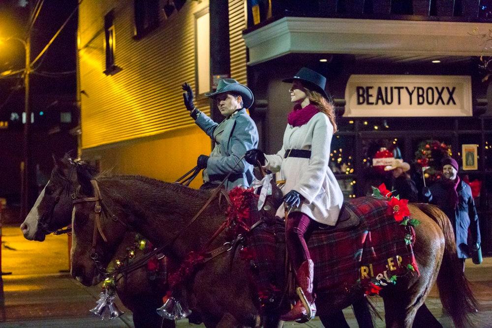 Natale a Rocky Mountain attori