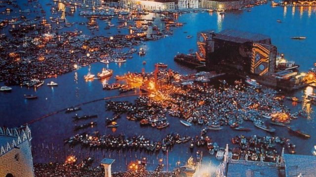 città segrete venezia concerto pink floyd